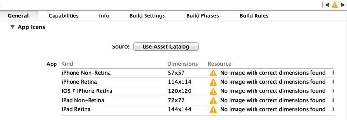 添加一个Asset Catalog